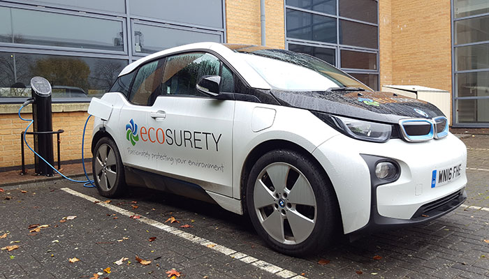 Ecosurety electric car