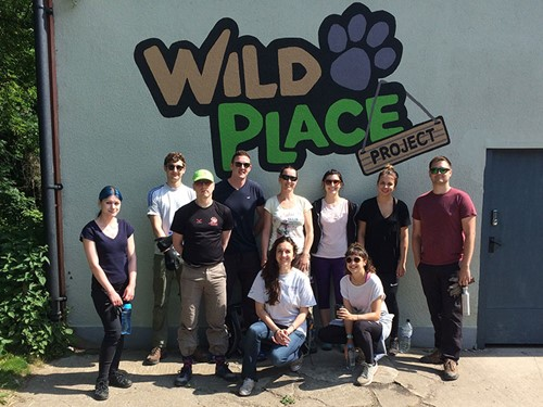 Volunteering at the Wild Place
